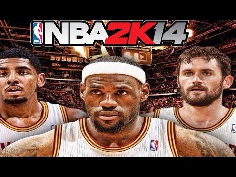 NBA 2K14 My GM - I'M BACK! Cleveland Cavaliers BIG 3! Kevin Love, Lebron, Kyrie Ep.1