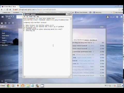 Cara Hack e-mail yahoo Part 1 (Mengetahui)
