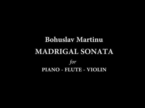 Богуслав Мартину - Мадригал-соната