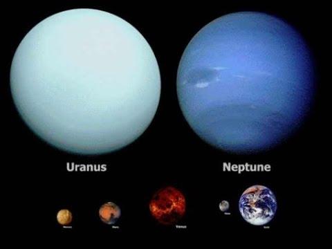 Путешевствие на Уране и Нептуне