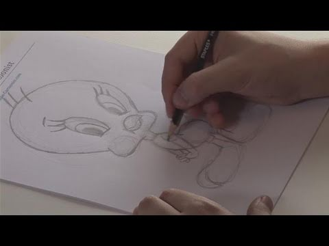 How To Sketch Tweety Bird video