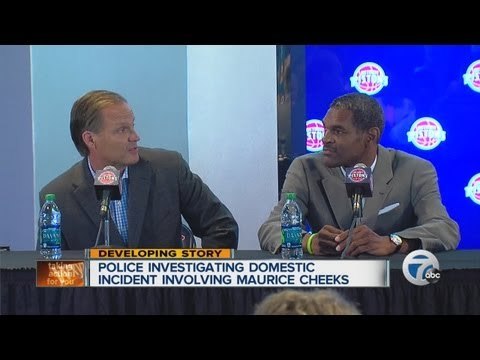 Police investigating domestic incident involving Pistons coach Maurice Cheeks