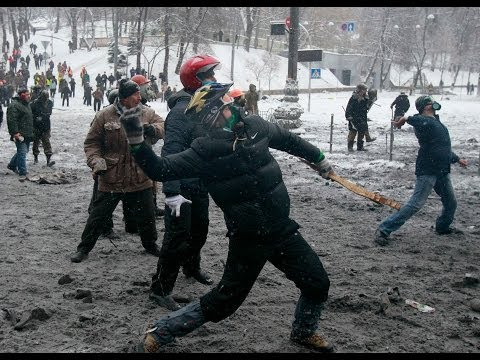 Ukraine Protesters 'Shot Dead By Police'