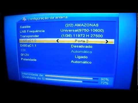 Azbox Bravissimo CARONA INTELSAT 3R11 43W E HISPASAT 30W mpeg2video