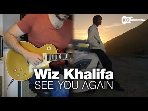 Wiz Khalifa ft. Charlie Puth - See You Again - Electric Guitar Cover by Kfir Ochaion