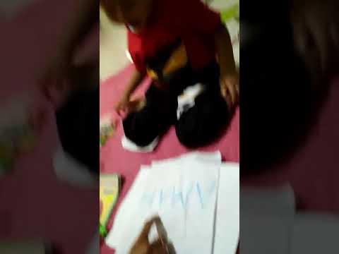 Kids Jaman Now Anak kecil sudah pandai Belajar Mengeja dan Membaca
