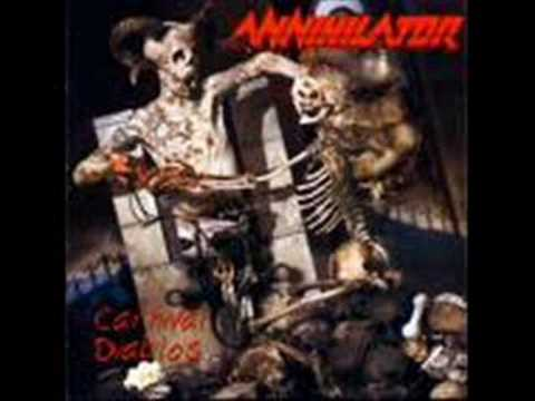 Annihilator - Liquid Oval
