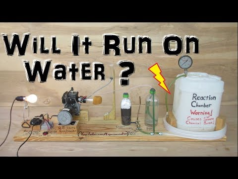 Homemade Generator that runs on Water and Aluminium (Experiment)
