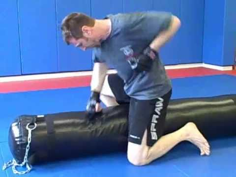 Ground and Pound MMA Interval Training Workout -- 8 minutes Image 1