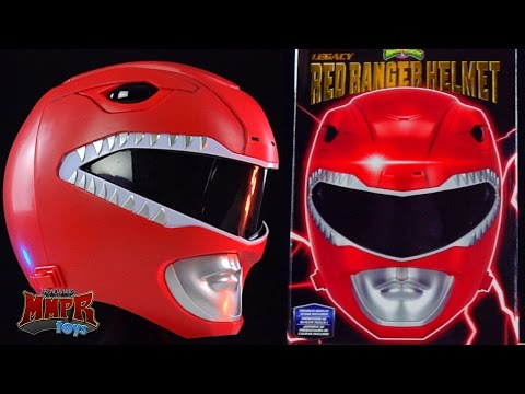 Legacy Red Ranger Helmet! (Mighty Morphin Power Rangers)