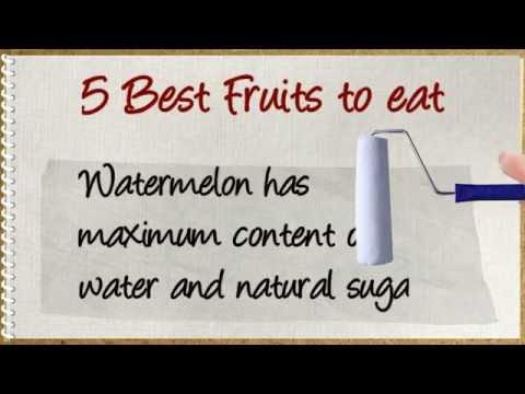 Ramadan Tips   5 Best Fruits to eat