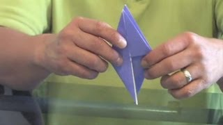 The Basic Form Of An Origami Bird : Origami Ideas