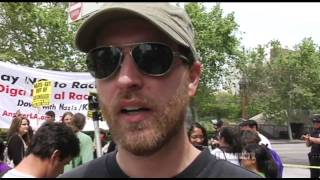 Neo-Nazi / White Supremacy Rally in Los Angeles, April 17, 2010