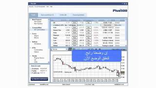 Arabic. Plus500 Investment Trading Machine.