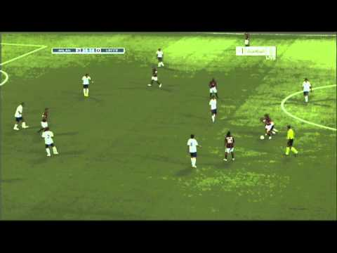 Andrea Pirlo Amazing Skill Vs Lecce - Seria A 30/8/2010 Video