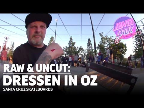 FASTEST SKATER EVER?! Eric Dressen BLAZES Through OZ: RAW & UNCUT | Santa Cruz Skateboards