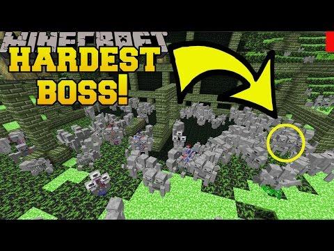 Minecraft: HARDEST BOSS FIGHT EVER CHALLENGE [EPS9] [41]