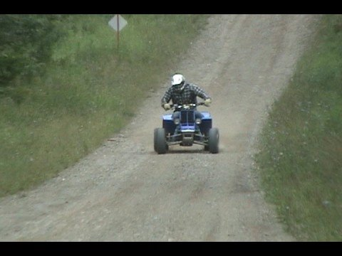 Yamaha banshee test run by DSP Video