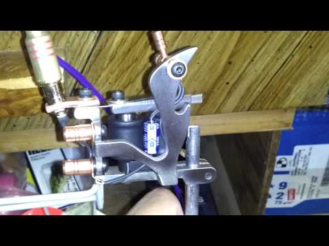 custom built tattoo machine iron Liner