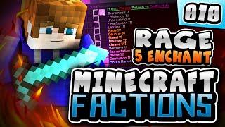 YOLO RAGE 5 ENCHANTMENT!! | Minecraft COSMIC FACTIONS! #10 ( Cosmic PvP Pleb Planet )