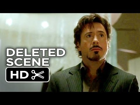 Iron Man Deleted Scene - Missed You Too (2008) - Robert Downey Jr, Jeff Bridges Movie HD