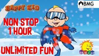 Happy Kid | Non Stop | One Hour | Unlimited Fun | Kochu TV | Malayalam