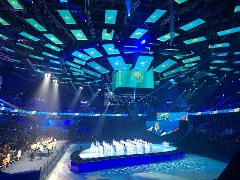В Алматы состоялась торжественная церемония открытия Всемирной зимней Универсиады