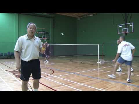 Badminton Tips : How To Play Badminton Doubles video