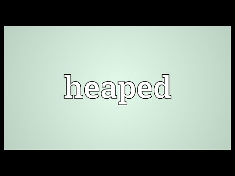 Header of heaped