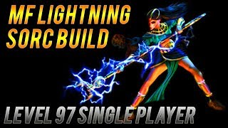 Hitting Level 97! In Depth MF Lightning Sorc Guide/ Mf Discussion - Diablo 2