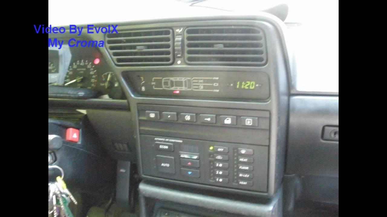 My Fiat Croma 2 0 Ie 85 Kw 1994 Youtube