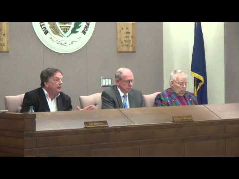 Butler County Commissioners Meeting 2 25 15
