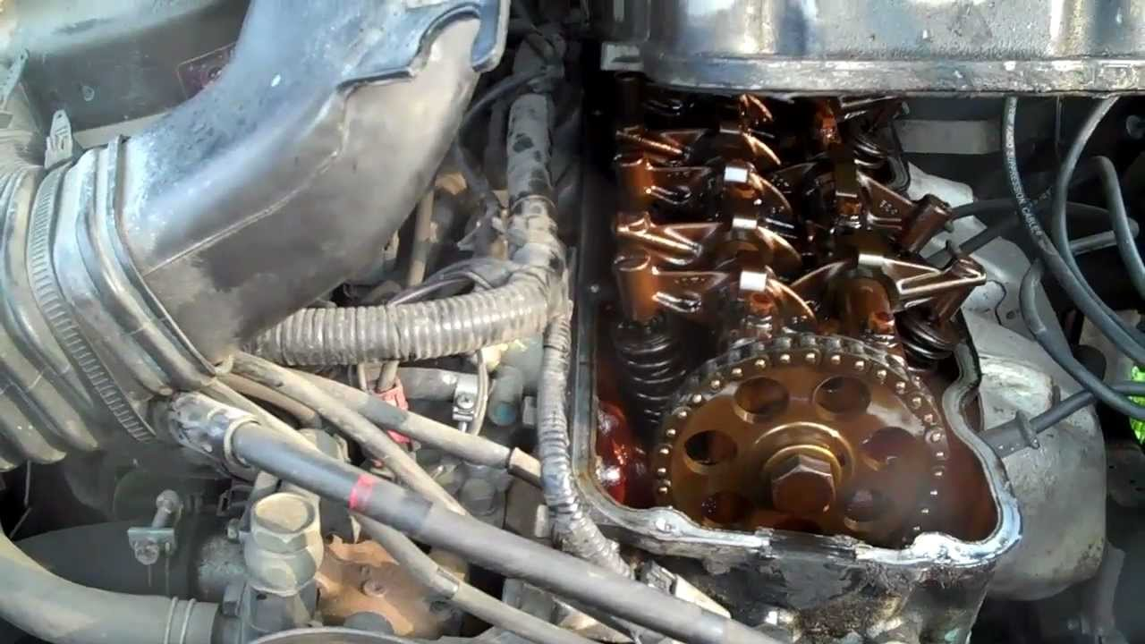Replace Timing Chain On 1995 Nissan 4x4 Youtube