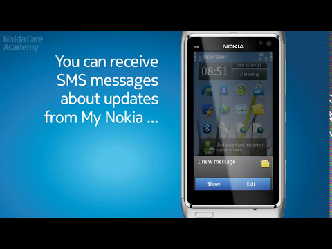 Nokia Software Update - Symbian Anna on N8 !