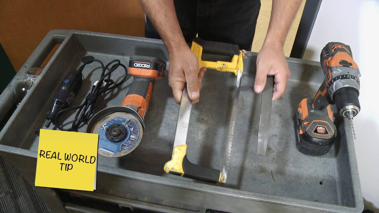 Hollow Metal Frame  The Right Tool for the Task