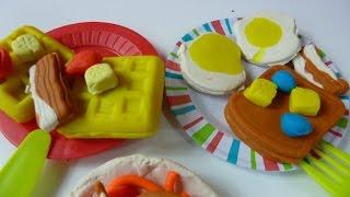 Đồ Chơi Nấu Ăn Sáng Bằng Đất Nặn Play-Doh (Bí Đỏ) Play-Doh Breakfast make Play-doh Eggs...