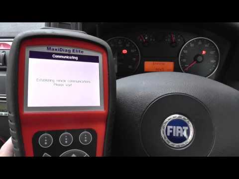 Fiat Airbag Light Reset Guide MD802