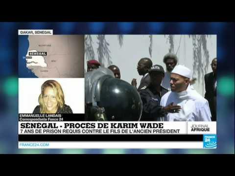 SÉNÉGAL : 7 ans de prison et une très lourde amende requis contre Karim Wade