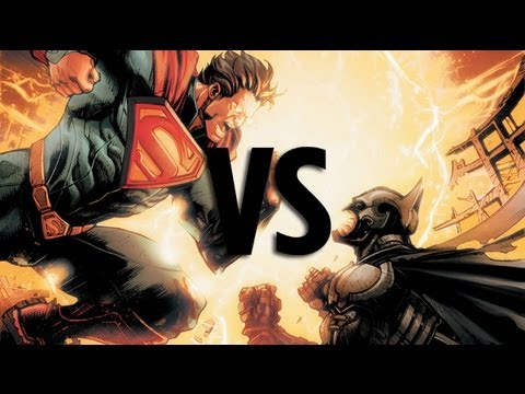Superman vs Batman: Top 10 Reasons Superman Wins!