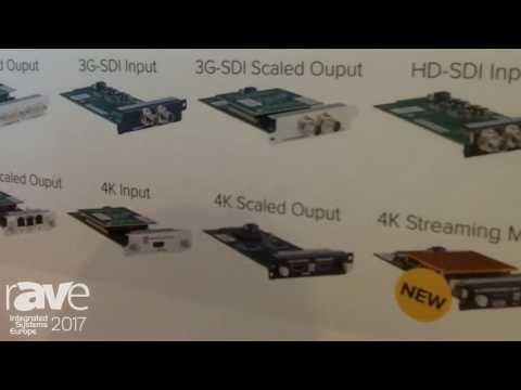 ISE 2017: tvONE Features C3-503 CORIOmaster micro Video Processor