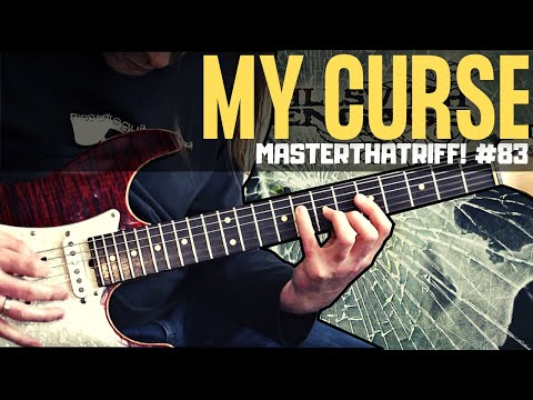 """My Curse"" by Killswitch Engage - Riff Guitar Lesson wTAB - MasterThatRiff! 83"