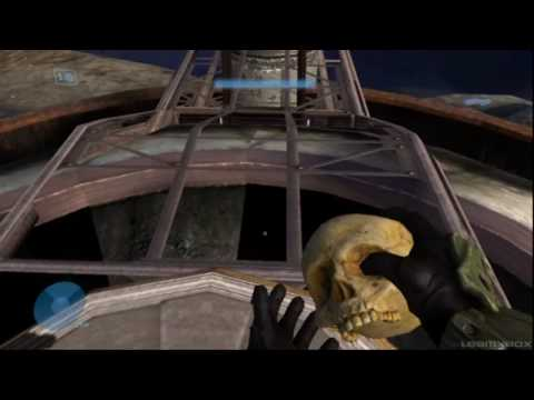 Halo3 All 14 Skulls gold, silver, and the unkown skull (HD)