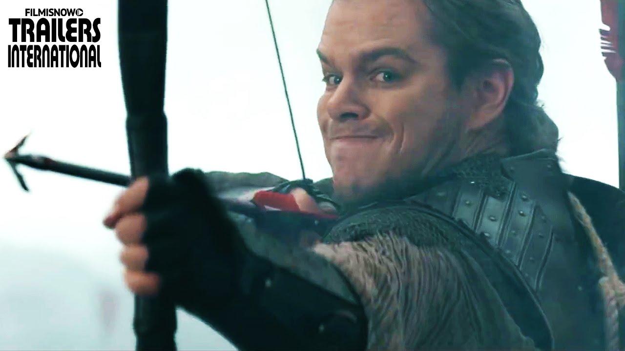 A Grande Muralha de Zhan Yimou com Matt Damon | Trailer Oficial #2 [HD]