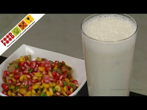 Corn And Green Pea Bhel | Food Food India - Fat To Fit | Healthy Recipes