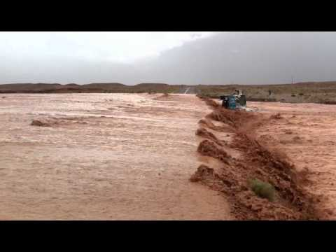 This is what you should NOT do after a lot of rain in Morocco