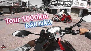 Tour 1000km đầu năm của Anywhere Man bằng MT-03 | Travel vlog