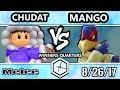 Shine 2017 SSBM - Liquid'Chudat (Ice Climbers) vs C9 Mang0 (Falco) - Smash Melee WQ