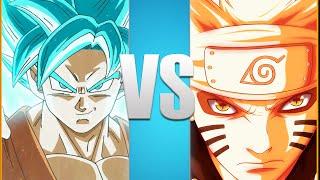 Goku VS Naruto   Full Battle! [Animation]