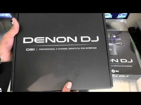 Denon DJ DS1 Serato DJ DVS Interface Unboxing Video