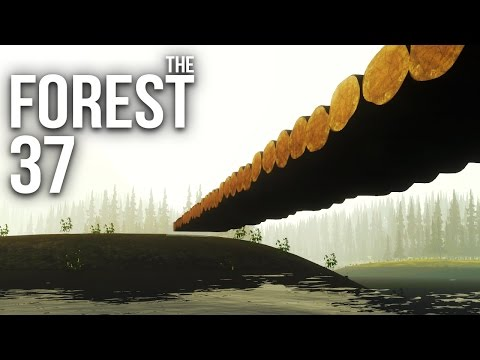 THE FOREST [HD+] #037 - Du geiles Brückstück! ★ Let's Play The Forest